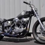 Harley Davidson Panhead 1960 custom by Boyle Custom Moto