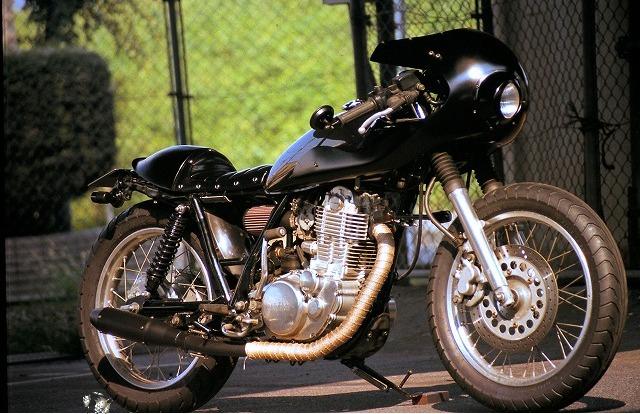 Yamaha SR400 front end