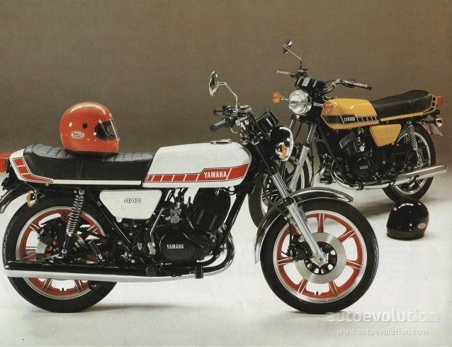 Yamaha classic bike