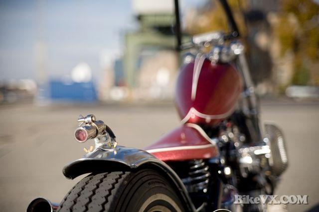 Harley davidson classic custom chopper