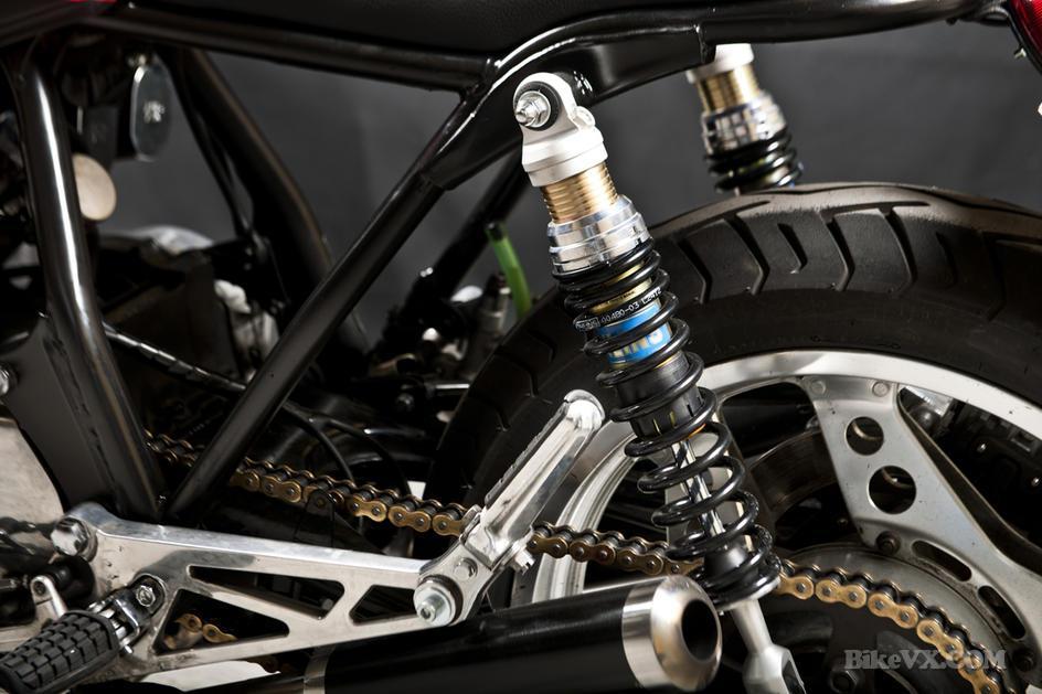 Honda CB900f custom suspension