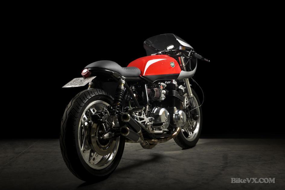 Honda custom CB900 black'or custom