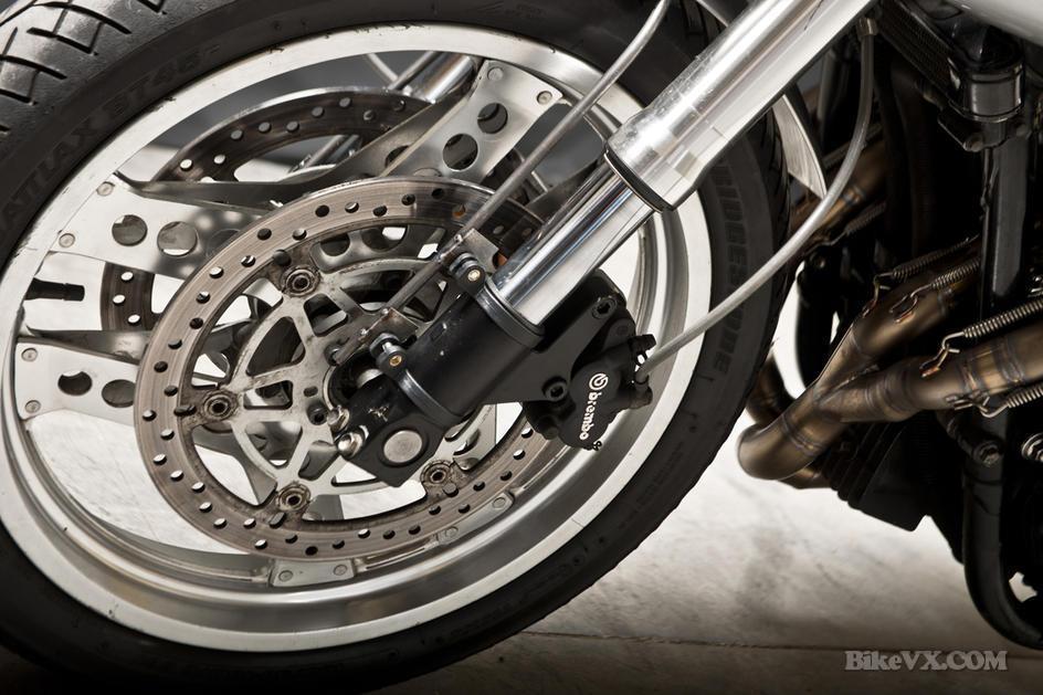 Honda CB900F front tire