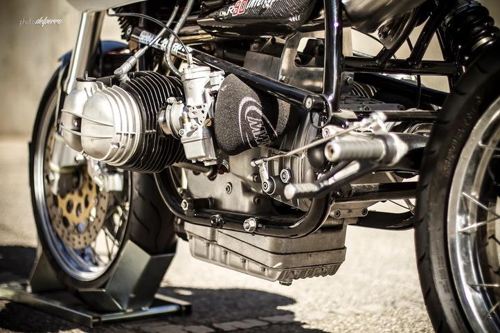 BMW interceptor's engine