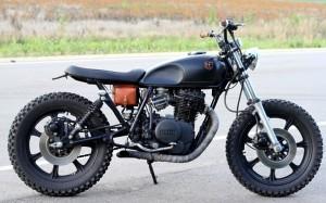 Andrew Hull's custom 1979 Yamaha XS400