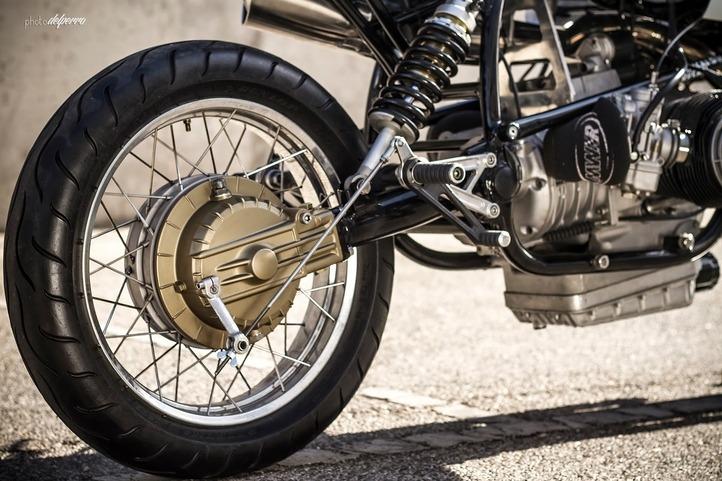 BMW rear wheel