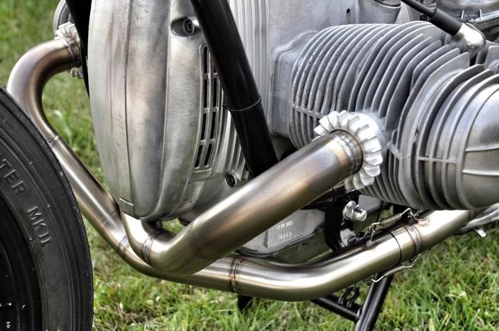 BMW R100 exhaust system