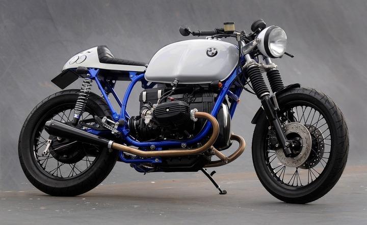 BMW R80 Azure by Kevils Speed Shop