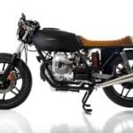 Custom Moto Guzzi V35 Black Boot by Marco Matteucci