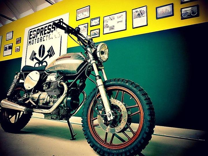 Scrambler by Espresso Motorcycles