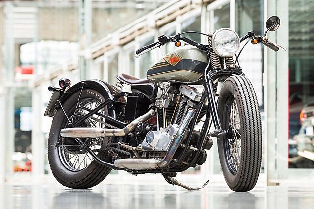 Harley Davidson Ironhead bobber