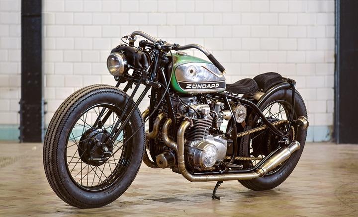Honda CB550 custom