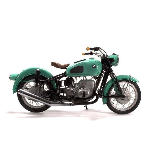classic bmw bike from 1960