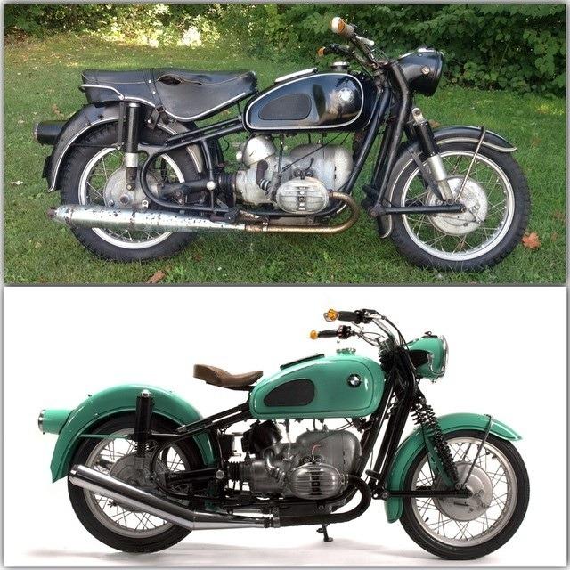 bmw r69s by vintage steele