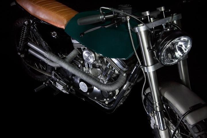 VDB moto H-1 bike