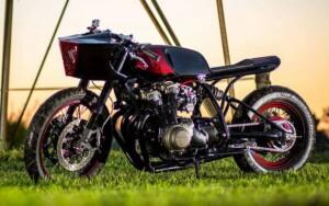 "Honda CB750 ""Xerxes"" by Ben Davis at Legion Cycle Works"