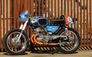 1966 Honda CB160 Cafe Racer by Circle K Kustoms