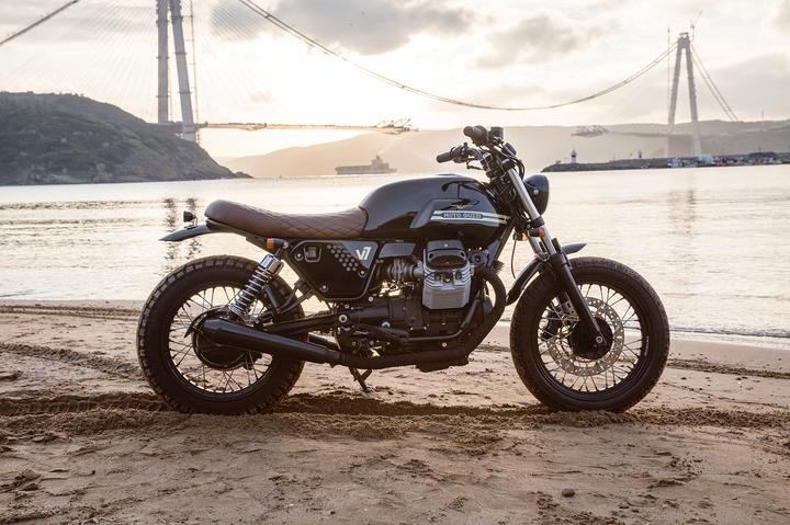 Custom 2012 Moto Guzzi V7 Classic