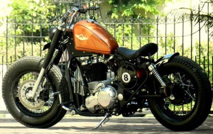 Royal Enfield Bobber bike