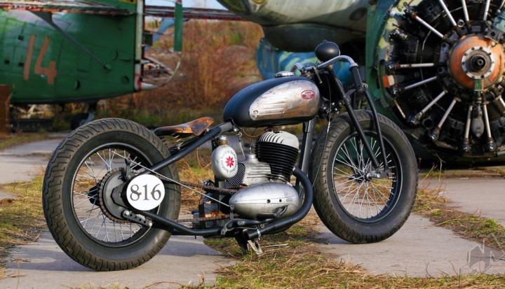 Jawa 250cc thumper bobber