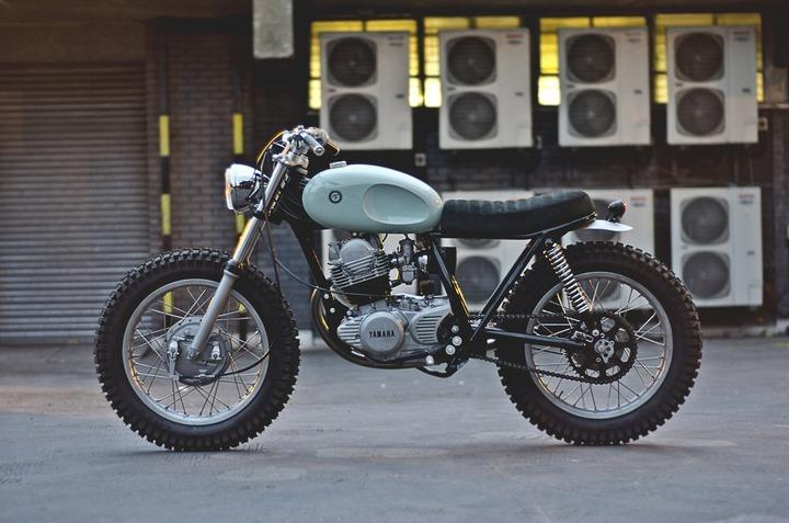 Custom made Yamaha SR250