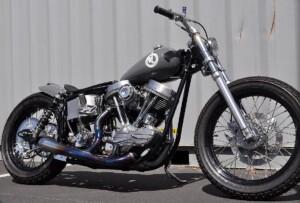 Harley Davidson Panhead 1960 custom by HardSun