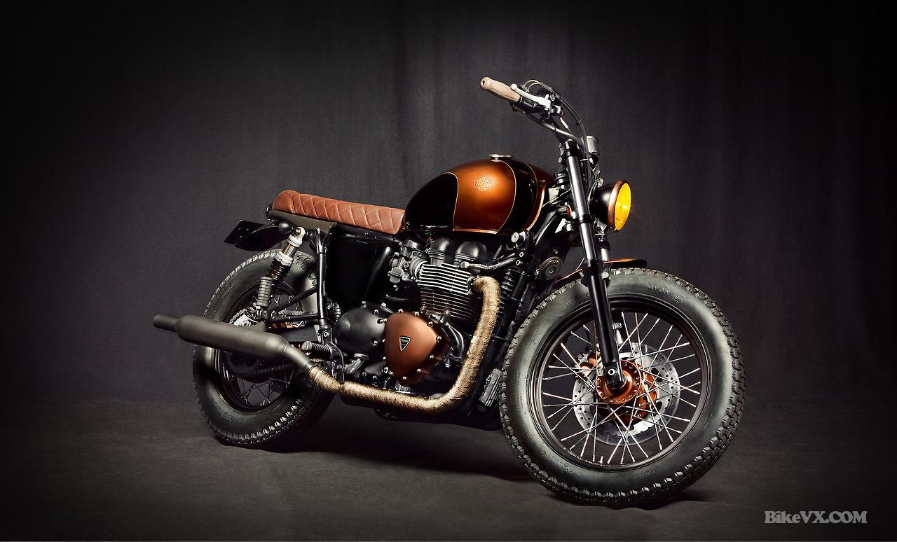 triumph custom bike