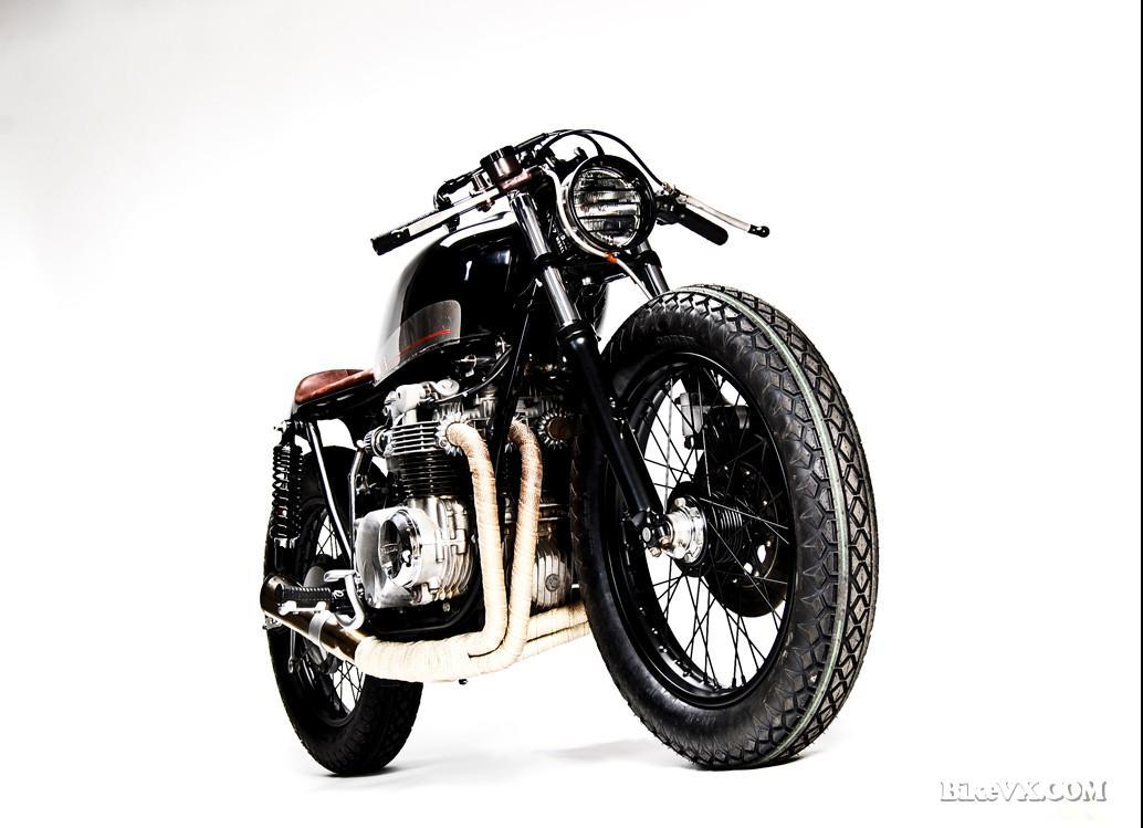Honda CB550 custom front