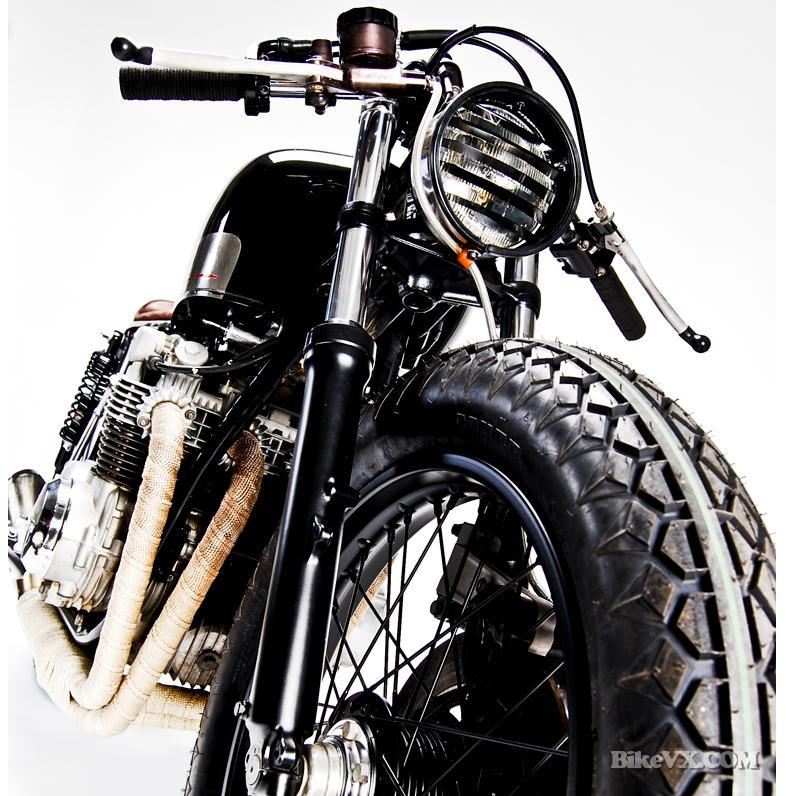 honda cb550 custom front end