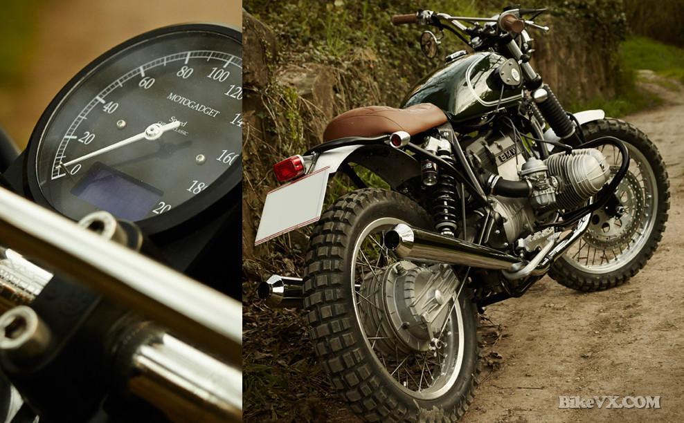 BMW R80 ST custom speedometer