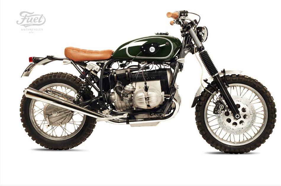 BMW R80 TS motorcycle custom