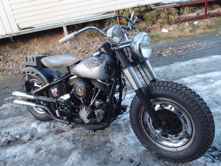 Harley Davidson Panhead custom