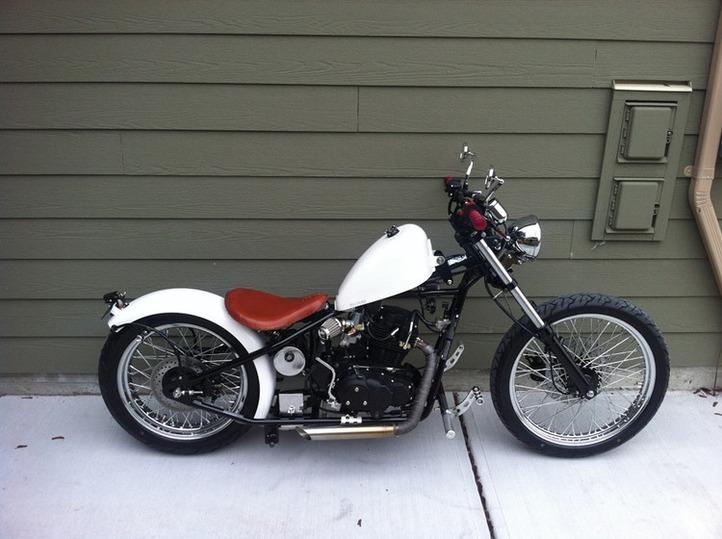 custom CCW's bike