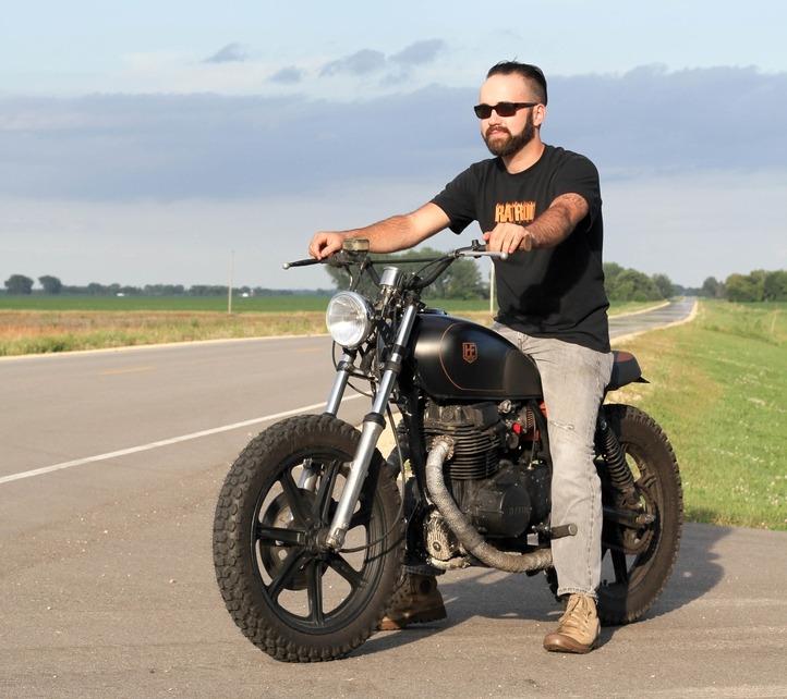 Andrew Hull's Yamaha XS400