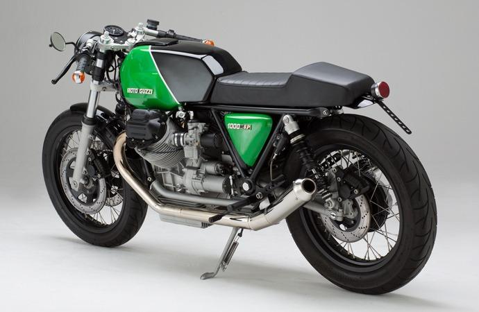 Moto Guzzi SP overall look