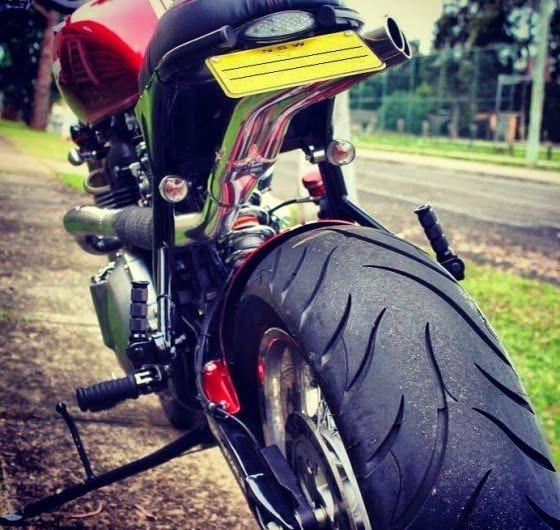 Triumph Mad Max rear wheel