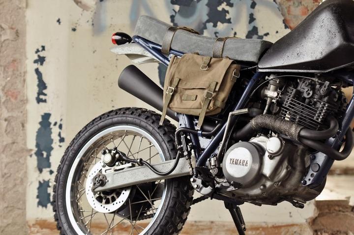 Yamaha XT600 pannier