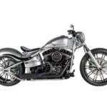 "Harley Davidson Softail Blackline ""Grey"" by SS&C"