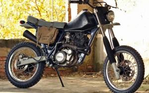 """Yamaha XT 600 """"Arctic Monkey"""" by LHC"""