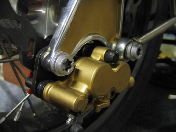 Triumph T300 brake