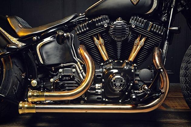 Harley Davidson Softail engine