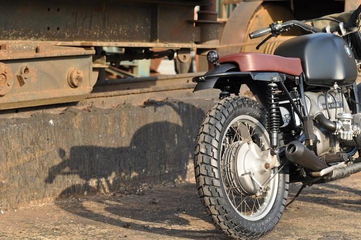 BMW R80/7 custom bike