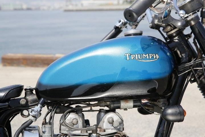 custom Triumph by Heiwa