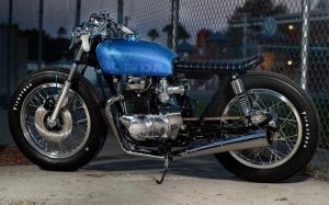 "Honda CB350 Brat ""Skyler"" by Scott Di Lalla"