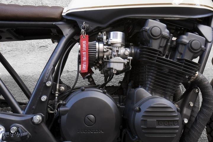 matt black engine