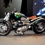 Triumph Bobber project by TFC1 team