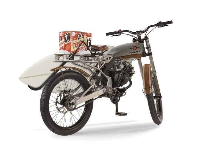 modern moped