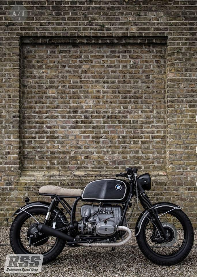 vintage bmw cafe racer