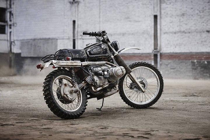BMW scrambler build