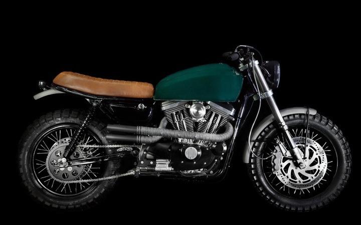 Harley Sportster Scrambler by VDB